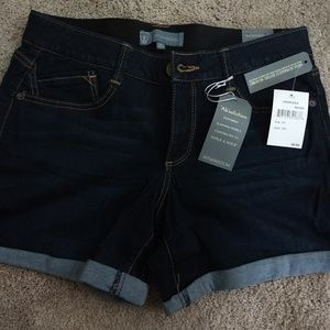 Wit & Wisdom - Ab-solution Cuffed Denim Shorts